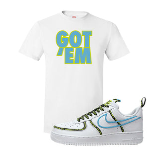 Air Force 1 '07 PRM 'Worldwide Pack' T Shirt | White, Got Em