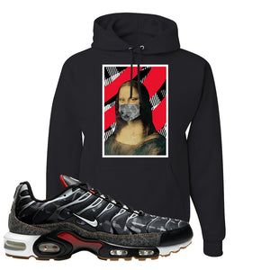 Air Max Plus Remix Pack Hoodie | Mona Lisa Mask, Black
