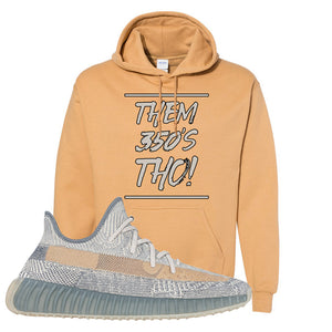 Yeezy Boost 350 V2 Israfil Hoodie | Old Gold, Them 350's Tho