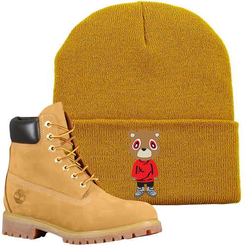 9182cb46 Match your Wheat Timbs from Timberland with this Timberland Boots matching  winter beanie