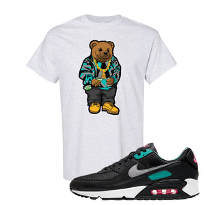 Air Max 90 Black New Green T Shirt | Sweater Bear, Ash