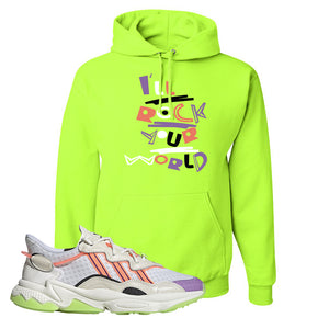 Ozweego Chaos Hoodie | Safety Green, I'll Rock Your World