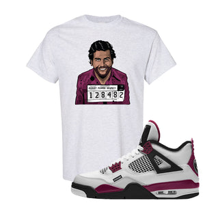 Air Jordan 4 PSG Paname T-Shirt | Escobar Illustration, Ash