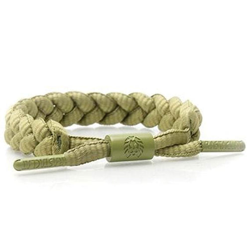 Rastaclat Faded Moss Braided Men's Shoelace Bracelet