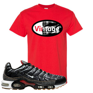 Air Max Plus Remix Pack T Shirt | Vintage Oval, Red