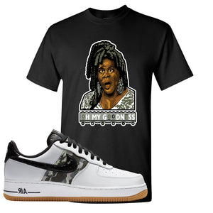 Air Force 1 Low Camo T Shirt | Oh My Goodness, Black