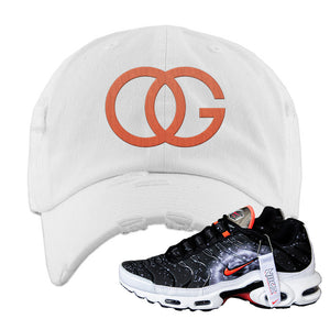 Air Max Plus Supernova 2020 Distressed Dad Hat | White, OG