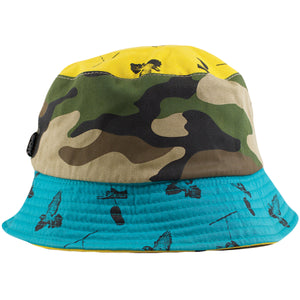 DGK Reversible Multicolor Bucket Hat