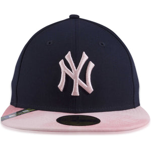 New York Yankees 2019 Mother's Day Navy Blue on Pink 59Fifty Fitted Cap