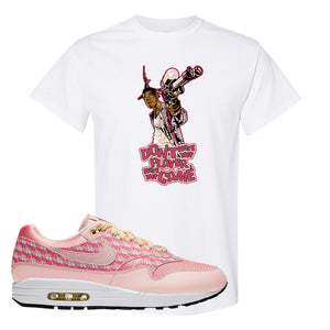 Air Max 1 Strawberry Lemonade T-Shirt | Dont Hate The Playa, White