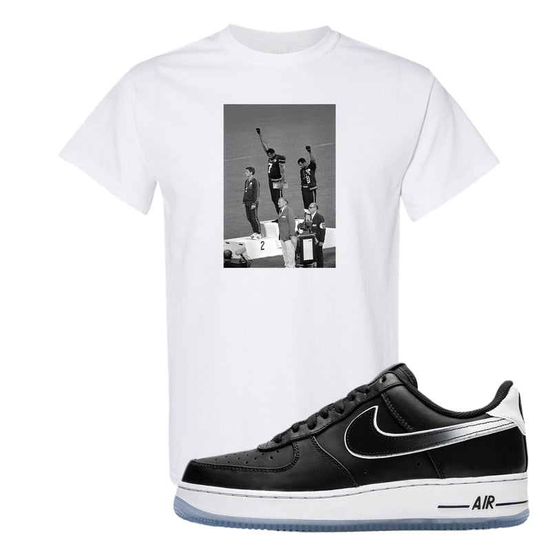 Colin Kaepernick X Air Force 1 Low T Shirt | White, Kaepernick Fist