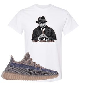 Yeezy Boost 350 V2 Fade T-Shirt | Capone Illustration, White