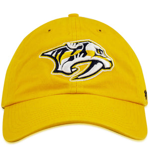 Nashville Predators Classic Adjustable Gold Yellow Dad Hat