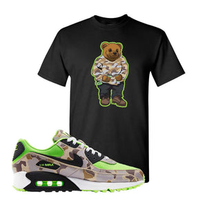 Air Max 90 Duck Camo Ghost Green T Shirt | Black, Sweater Bear