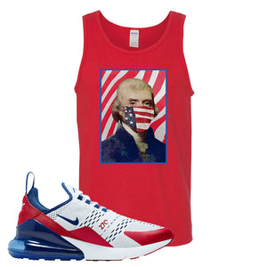 Air Max 270 USA Tank Top | Red, Thomas & Jefferson Mask