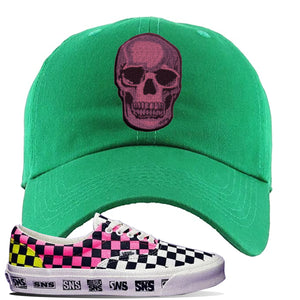 Vans Era Venice Beach Pack Dad Hat | Kelly Green, Skull