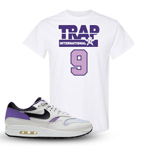 Air Max 1 DNA Series Sneaker White T Shirt | Tees to match Nike Air Max 1 DNA Series Shoes | Trap International