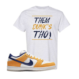 SB Dunk Low Laser Orange T Shirt | Ash, Them Dunks Tho