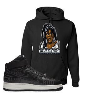 Air Force 1 High Hotline Hoodie | Oh My Goodness, Black