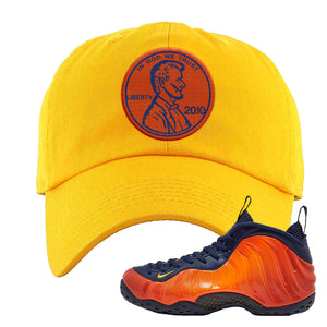 Foamposite One OKC Dad Hat | Gold, Penny