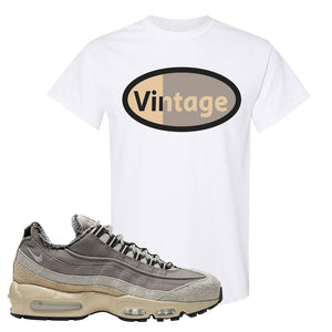 Air Max 95 SE ACG T Shirt | Vintage Oval, White