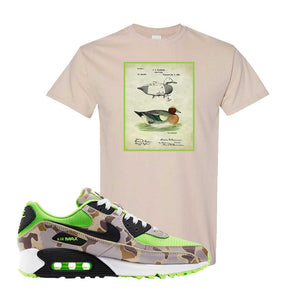 Air Max 90 Duck Camo Ghost Green T Shirt | Sand, Decoy Duck
