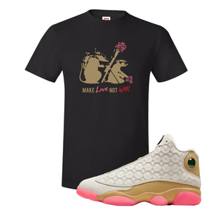 Jordan 13 Chinese New Year 2020 Army Rats Black T-Shirt to match Jordan 13 Chinese New Year Sneaker