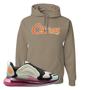 Air Max 720 WMNS Black Fossil Sneaker Khaki Pullover Hoodie | Hoodie to match Nike Air Max 720 WMNS Black Fossil Shoes | Chiraq