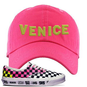 Vans Era Venice Beach Pack Dad Hat | Pink, Venice Sign