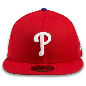 Philadelphia Phillies Classic On-Field Red 59Fifty Fitted Cap