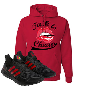 Ultra Boost 1.0 Louisville Hoodie | Talk Is Cheap, Red