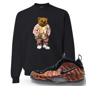 Foamposite Pro Hyper Crimson Sneaker Hook Up Polo Sweater Bear Black Crewneck Sweater