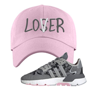 WMNS Nite Jogger True Pink Camo Dad Hat | Light Pink, Lover