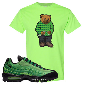 Air Max 95 Naija T Shirt | Sweater Bear, Neon Green