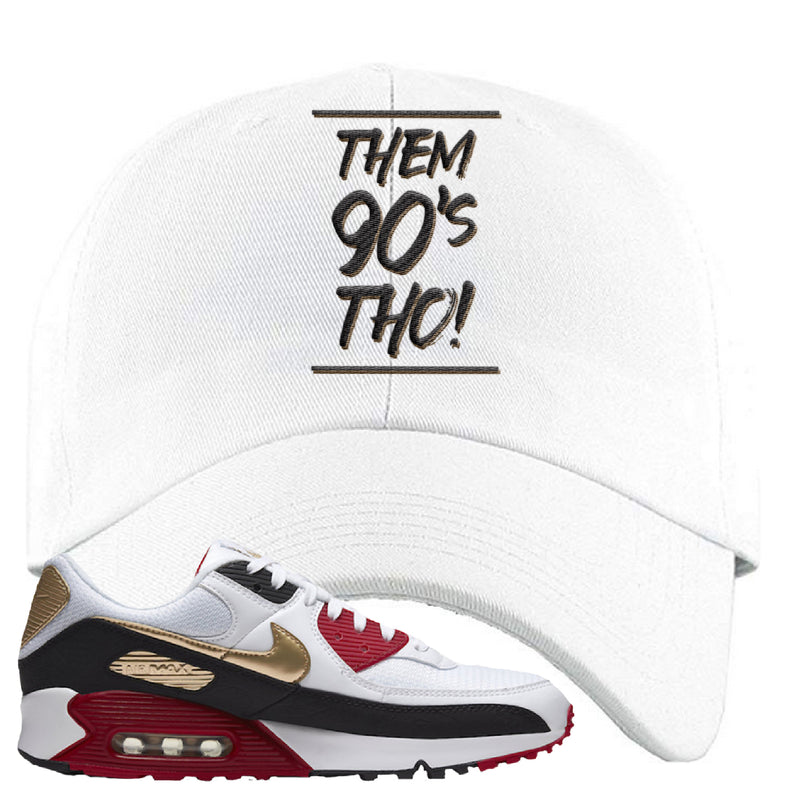 Air Max 90 Chinese New Year Dad Hat | White, Them 90's Tho