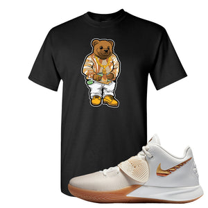 Kyrie Flytrap 3 Summit White T Shirt | Sweater Bear, Black