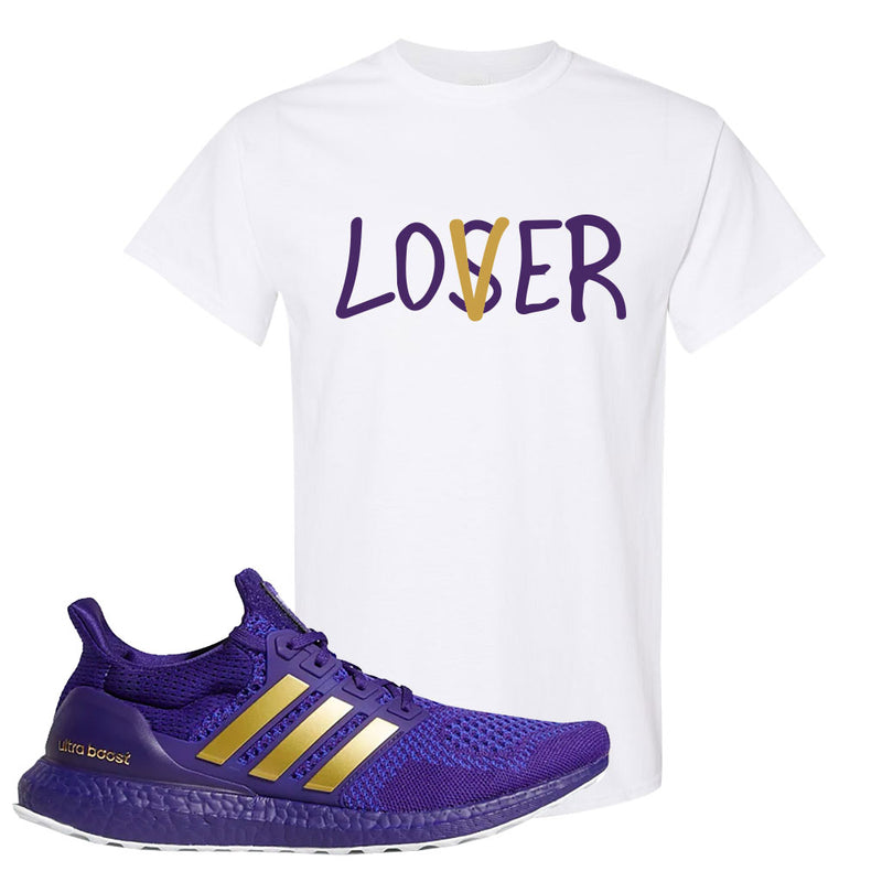 Ultra Boost 1.0 Washington T Shirt | Lover, White