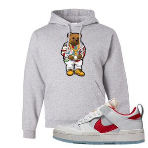 Dunk Low Disrupt Gym Red Hoodie | Sweater Bear, Ash