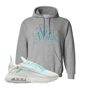 Air Max 2090 Pristine Green Hoodie | Sport Grey, New York