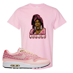 Air Max 1 Strawberry Lemonade T-Shirt | Oh My Goodness, Light Pink