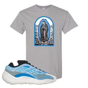 Yeezy 700 v3 Azareth T Shirt | Gravel, Virgin Mary