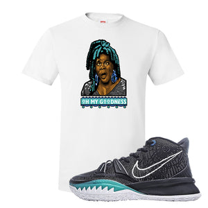 Kyrie 7 Pre Heat T-Shirt | Oh My Goodness, White
