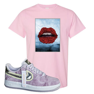 Air Force 1 P[her]spective T Shirt | Pink, Rose Lips
