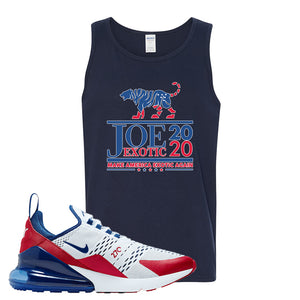 Air Max 270 USA Tank Top | Navy Blue, Joe Exotic 2020