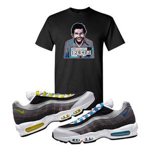 Air Max 95 QS Greedy T Shirt | Black, Escobar Illustration