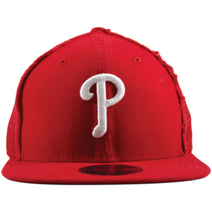 Philadelphia Phillies Distressed Mesh-Back Trucker 9Fifty Snapback Hat