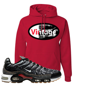Air Max Plus Remix Pack Hoodie | Vintage Oval, Red