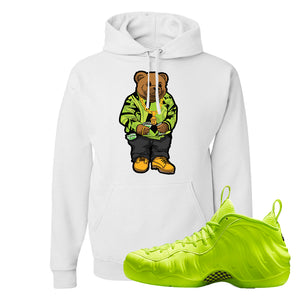 Air Foamposite Pro Volt Hoodie | Sweater Bear, White