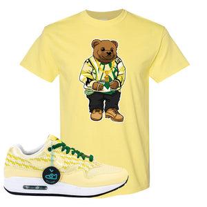 Air Max 1 PRM Lemonade T Shirt | Sweater Bear, Cornsilk