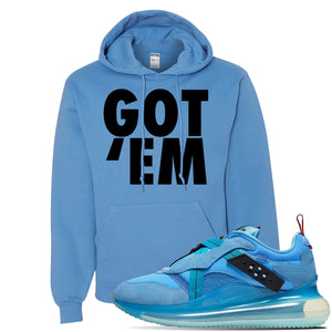 Air Max 720 OBJ Slip Light Blue Hoodie | California Blue, Got Em